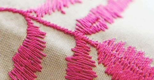 Hand Stitched Embroidery