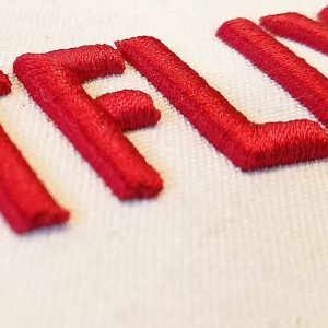 3D Puff Shirt Embroidery